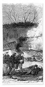 Railroad Accident, 1853 Bath Towel