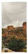 Rain At The Needles District Hand Towel