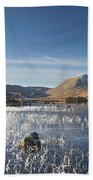 Rannoch Moor - Winter Bath Towel