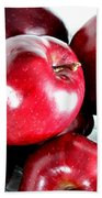 Red Delicious Apples Bath Towel
