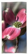 Red Dogwood Bath Towel