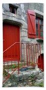Red Door In Laroche Bernard Bath Towel