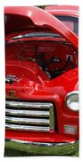 Red Gmc Bath Towel