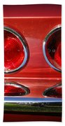 Red Hot Vette Hand Towel