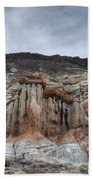 Red Rock Canyon Cliffs Bath Towel