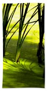 Reeds In Pond Hand Towel