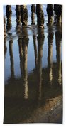 Reflections Avila Beach California Bath Towel