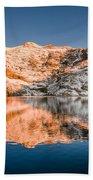 Reflections On Angel Lake Bath Towel