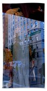 Reflections On Madison Avenue Bath Towel