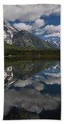 Reflections On Mount Moran Hand Towel
