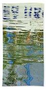 Reflective Water Abstract Bath Towel