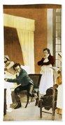 Rene Laennec, French Physician Bath Towel