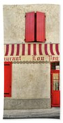 Restaurant In Provence Bath Towel
