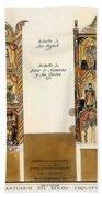 Retablo, 1816 Bath Towel