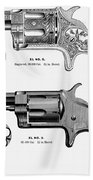 Revolvers, 19th Century Bath Towel