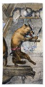 Reynard The Fox, 1846 Bath Towel
