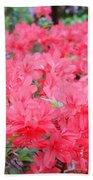 Rhodies Art Prints Pink Rhododendrons Floral Bath Towel