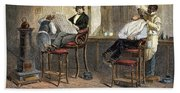 Richmond Barbershop, 1850s Hand Towel