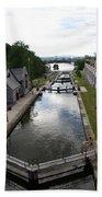 Rideau Canal And Locks - Ottawa Bath Towel