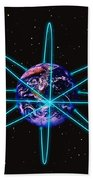 Rings Around The Earth Hand Towel