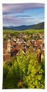 Riquewihr Alsace Bath Towel