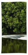 River Boyne, County Meath, Ireland Bath Towel