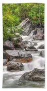 River In The Forest Bath Towel