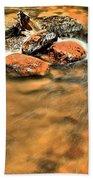 River Rock Swirl Bath Towel