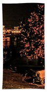 Riverfront 1865-2003 Tall Stacks  By Randall Branham Bath Towel