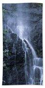 Road To Hana Waterfall Hand Towel
