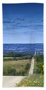 Road To The Valley Bath Towel