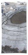 Roadside Waterway Bath Towel