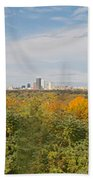 Rochester Skyline Panorama Bath Towel