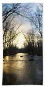 Rock Creek Near Gettysburg Bath Towel
