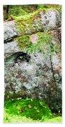 Rock Spirits Keeping Secrets Bath Towel