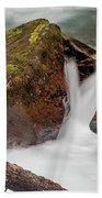 Rocks Of Avalanche Gorge Bath Towel