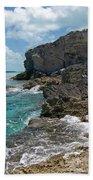 Rocky Barrier Island Bath Towel