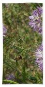 Rocky Mountain Bee Plant Bath Towel