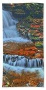 Rocky Pool Falls Bath Towel