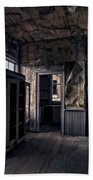 Roe - Graves House Kitchen Of Bannack Ghost Town - Montana Bath Towel