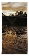 Rogue River Sunset Bath Towel