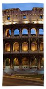Rome Colosseum Dusk Bath Towel
