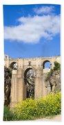 Ronda Bridge In Spain Bath Towel