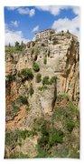 Ronda Rocks In Andalusia Bath Towel