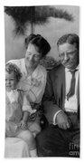 Roosevelt Family, 1915 Bath Towel