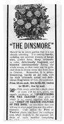 Rose Advertisement, 1890 Bath Towel