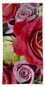 Roses Roses Bath Towel