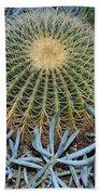Round Cactus Bath Towel