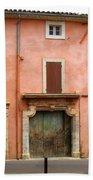Roussillon Painted Door Bath Towel
