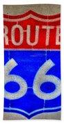 Route 66 Wall Art-2 Bath Towel